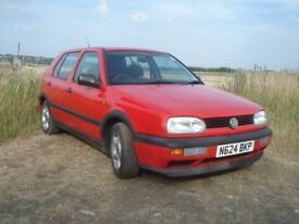 Classic VW Golf Mk3 SE (Special Edition/ Gti lookalike) 1996.