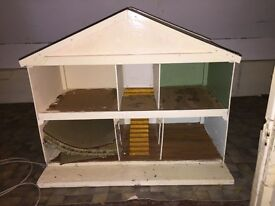 Dolls house in need of renovation