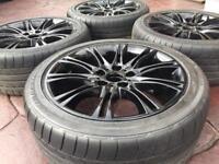 "18"" BMW MV2 Style VW T5 Vauxhall Vivaro Refurbished Alloy wheel & Tyres 5x120"