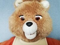 Teddy Ruxpin 1st edition fully working with tape fab LQQK