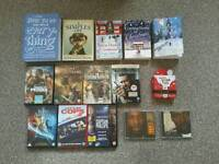 Dvd, Cd, Book bundle £10 the lot 7 dvds 2 cds 4 books