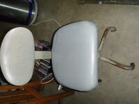 antique steel chair