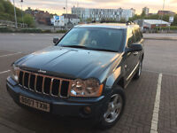 2007 JEEP GRAND CHEROKEE 4X4 CRD LIMITED AUTO