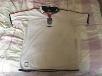 Retro England Home Shirt 2003-2005 (Large)