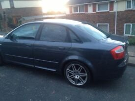 Audi A4 1.8t 190bhp 93k Miles good condition for age years mot