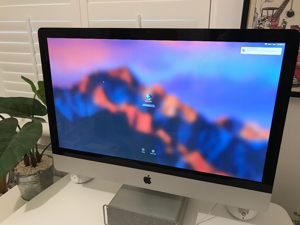 "27 inch Apple iMac mid 2011 i5 3.1GHz with 20GB MemoryAs New Conditionin Twyford, BerkshireGumtree - 27 inch Apple iMac mid 2011 i5 3.1GHz with 20GB Memory • As New Condition Pristine Condition Mid 2011 iMac 27"". Also have original box. Has had a 4GB memory upgrade so now has a whopping 20GB Memory. This machine was bought new in 2011 (for xmas)..."