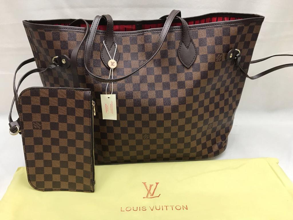 ce40d60fdb3e Never fall Louis Vuitton handbag