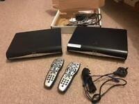 2 SKY+HD box sets for sale