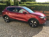 Fantastic value Nissan Qashqai - Top Spec. Low Mileage. Warranty and 2 free services