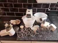 Vintage Kenwood Food Mixer with lots of attachments