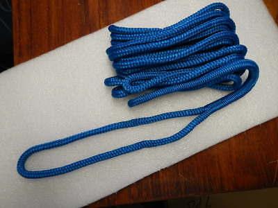 - Double Braided Nylon Boat Marine Dock Line Rope 3/8