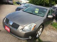 2006 NISSAN MAXIMA FULLY LOADED WITH LEATHER