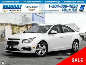 2015 Chevrolet Cruze Diesel *Heated Seats, OnStar, Remote Start*