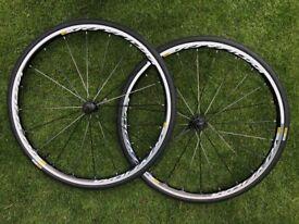 Mavic Ksyrium wheelset and tyres