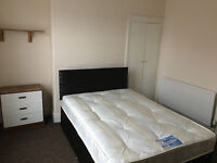 2 clean double rooms, new bed. Close to center and University, couples welcomed. Starts from £94p/w