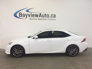 2016 Lexus IS 350 SPORT- AWD! ROOF! LEATHER! NAV! RCTA!