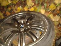 BMW 5 series E39 2x alloys 140£