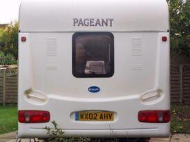 Touring Caravan & Awning
