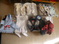 Boxes of baby clothes for sale