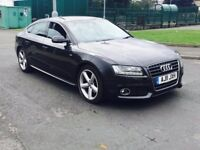 2011 Audi A5 2.0 TDI S Line Sportback 5dr diesel grey***HIGH MILES**ONE OWNER not a4 a6 passat bmw