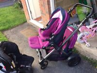 Twone Double Buggy