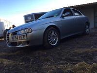 2004 Alfa Romeo 156 2.0 156 JTS spares or repairs