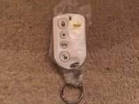 Yale alarm key thob, remote compatible for yale alarm systems.