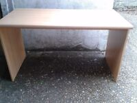 Pine coloured desk - DELIVERY AVAILABLE