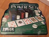 200 piece Texas hold'em poker set