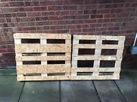Wooden Pallets x2 - Free to uplift