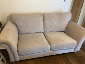 Next Home 3 seater Sofa and Snuggle Chair