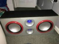 Twin subwoofer for swap