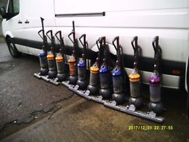 JOBLOT OF 10 DYSON DC40 BALL UPRIGHT HOOVERS