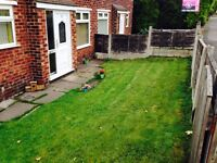 TWO LARGE BEDROOM SEMI DETATCHED FOR RENT DOUBLE GLAZED CENTRAL HEATED FRONT AND REAR GARDENS NO DSS