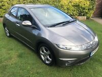 Superb Value 2009 Civic 2.2 CDTI Diesel SE 5 Dr Hatch May 2018 MOT HPI Clear Well Cared For Vehicle