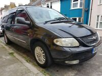 Chrysler GRAND VOYAGER XS CRD,Diesel 2.5,manual.low miles,excellent condition,leather,dvd player