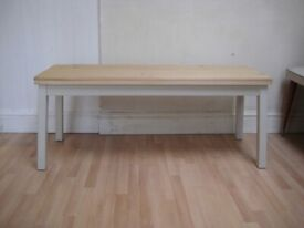 Lovely Kitchen / Dining Bench, Topped in Old Solid Pine - Professionally painted in Farrow & Ball