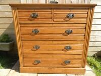 Satinwood Chest of Drawers