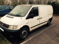 Mercedes Vito 2200 CDI, Runs & Drives, Spare or Repair due to mot not much left