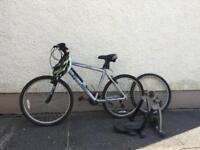 Raleigh scafell moutain bike