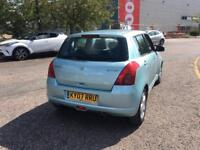 SUZUKI SWIFT 1.5 GLX PETROL MANUAL WITH FULL SERVICE HISTROY AND MOT IDEAL 1st CAR