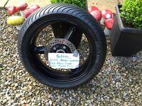 SUZUKI GSXR 750 REAR WHEEL
