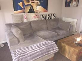 Chaise sofa, snuggle chair, armchair for sale