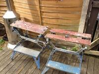 Pair of vintage black & decker workmates £20 for the pair