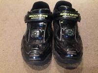 Boys skechers hot lights trainers