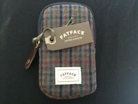 Woven fabric phone pouch/case from Fat Face