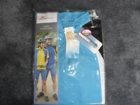 UNISEX CYCLING SHIRT NEW STILL PACKAGED LADIES 10-12 or 34-36 CHEST, COOL MAX FABRIC