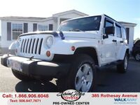 2011 Jeep WRANGLER UNLIMITED Sahara $239.44 BI WEEKLY!!!