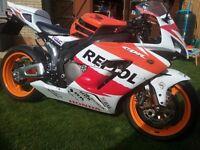 Honda cbr 1000rr repsol fireblade. Very low milege