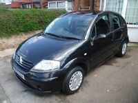 CITROEN C3 1.4L, 2005 REG, LONG MOT, FULL SERVICE HISTORY, LOW MILEAGE, NICE SPEC WITH AIR CON